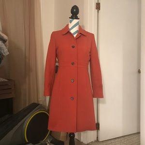 J. Crew Double Cloth Lady Day Coat 8P